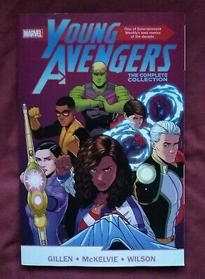 Young Avengers: The Complete Collection Paperback (Omnibus) By Gillen Mckelvie • 29£