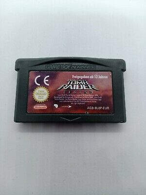 Lara Croft Tomb Raider Legend Game Boy Advance Eur Game Gba Nintendo Original • 14.90£