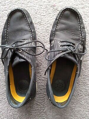 Gant  Yachtsman,Leather Deck Shoes, UK Size 9.5 Used But Still Good, Reduced !! • 4.50£