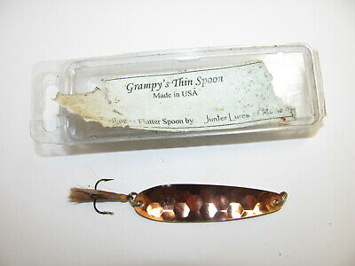 $ CDN3.91 • Buy Grumpy's Thin Spoon Lure Made By Junter Lures In Maine