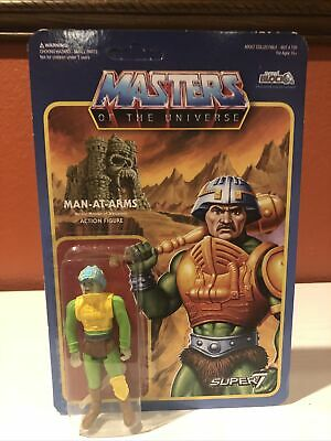 $3.25 • Buy Man-at-Arms Reaction Masters Of The Universe MOTU Mattel Super 7 New