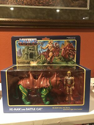 $22.50 • Buy He-Man And Battle Cat Reaction Masters Of The Universe MOTU Mattel Super 7 New