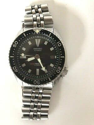$ CDN238.31 • Buy Seiko 7002-7001 Diver Scuba Vintage 17 Jewels Automatic Mens Watch