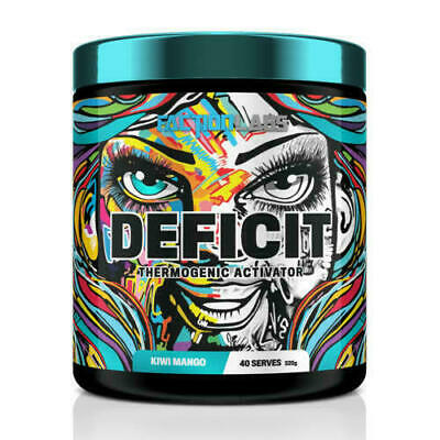 AU56.60 • Buy Faction Labs Deficit 40 Serves Thermogenic Fat Burner Oxy All Flavours