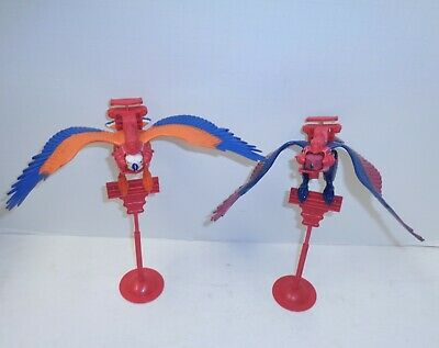 $55 • Buy Vintage Masters Of The Universe MOTU Screech And Zoar Bird Lot - Complete Loose