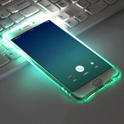 $ CDN6.96 • Buy JF_ HB- CO_ LED Flash Incoming Call Shockproof Bumper Case Cover For IPhone 7