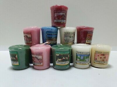 10 X Yankee Candle Votives Sampler Candles. Mixed Bundle. • 12.50£