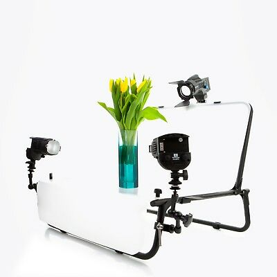 NanGuang LED Product Lighting Kit With Table Stand And 3 Light Heads • 379.99£