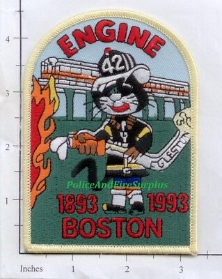 AU5.23 • Buy Massachusetts - Boston Engine 42 MA Fire Dept Patch V4 - Roxbury