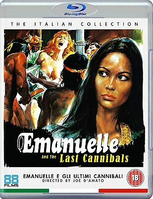 Emanuelle And The Last Cannibals Blu Ray Italian Collection (New And Sealed) • 10.99£