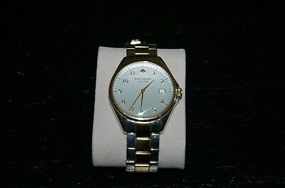 $ CDN39.27 • Buy Kate Spade New York Two Tone Silver Dial Watch - WORKING CONDITION