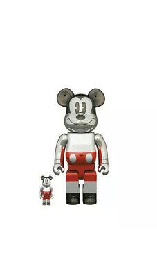 $388.88 • Buy BEARBRICK FUTURE MICKEY MOUSE 2nd COLOR 100% 400%  In-hand