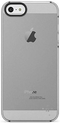 AU11.91 • Buy Genuine Belkin Clear Shield Sheer Translucent Case For IPhone SE 5 5S F8W162 X 2