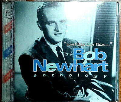 Bob Newhart Something Like This 2CD (Anthology)  Remastered - LIKE NEW UK SELLER • 4.99£