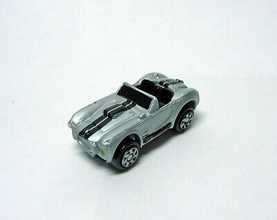 Micro Machines HTF Silver Shelby Cobra From The 2004 Hasbro Ford Series #4 • 8.50£