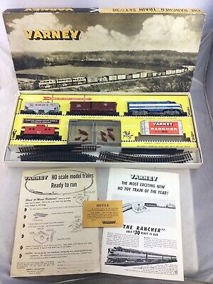 $ CDN50.60 • Buy Vintage Varney The Rancher Train Set #30 Boxed HO Scale