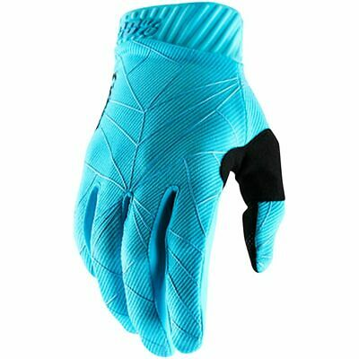 AU42.95 • Buy 100% Percent MX Ridefit Ice Blue/Black Motocross Dirt Bike Gloves