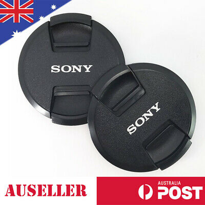 AU7.98 • Buy Sony Lenses Lens Cap Cover Camera Snap-clips 40.5-49-52-55-58-62-67-77-82mm AU