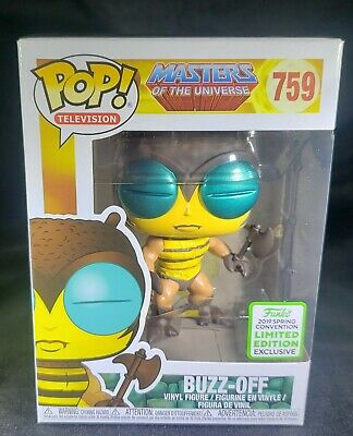 $19 • Buy Funko Pop Buzz Off Masters Of The Universe Eccc 2019 Exclusive