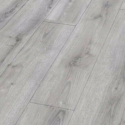 **SPECIAL -  Laminate Flooring Wood Floor Summer Oak Grey Quality Drop Lock • 725£