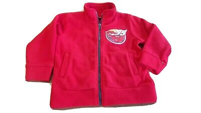 Boys Zip Up Fleece Top Age 3 Disney Cars  • 1£