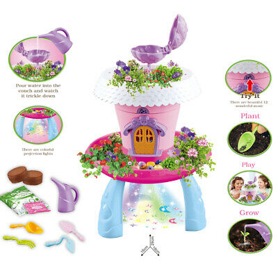 My Fairy Garden Magical Cottage Playset Toy Kids Birthday Gift - LIGHTS & MUSIC • 12.95£