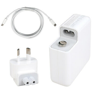 AU45 • Buy 87W USB C Power Adapter For MacBook A1719 Include Charge Cable A1707 A1708