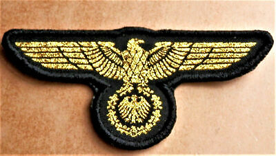 WW2 GERMAN MILITARY EAGLE PATCH WEHRMACHT 3rd REICH ERA STYLE REPRO • 9.99£