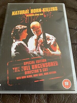 Natural Born Killers: Director's Cut DVD (2003) Woody Harrelson, Stone (DIR) • 0.99£