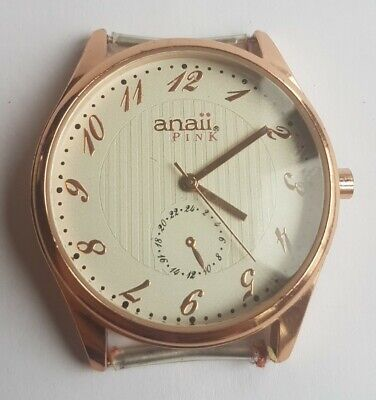ANAII PINK Men's Quartz Watch • 9.99£