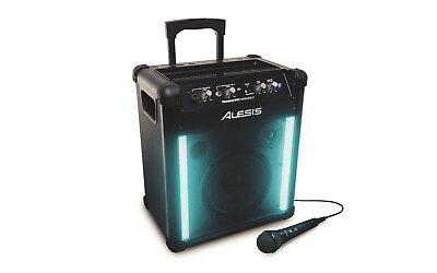 Alesis Transactive Wireless 2 Mobile Pa System With Bluetooth And Light Show • 275.71£