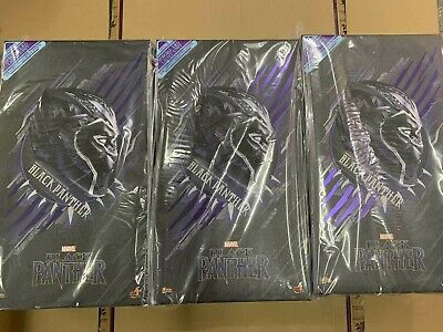 $ CDN575.50 • Buy In Stock ! Brand New Hot Toys MMS470 Black Panther 1/6 Marvel 12  Figure