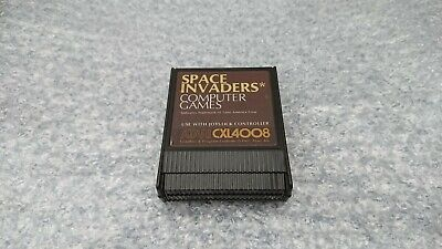 SPACE INVADERS - ATARI 400/800/65 XE XL ROM Cartridge - TESTED & WORKING • 9.99£