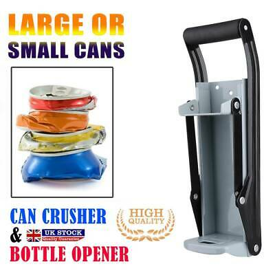 £7.80 • Buy 16OZ 500ml Can Crusher Recycling Tool Wall Mounted Beer Tin Bottle Opener Tools