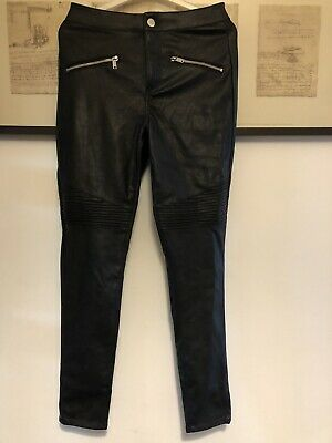 Faux Leather Jeans • 5£