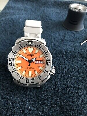 $ CDN244.25 • Buy SEIKO Monster Diver SKX781 Automatic Men Watch - Silver