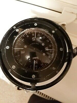 Vintage Nautical Sestred Floating Ship Compass  • 15£