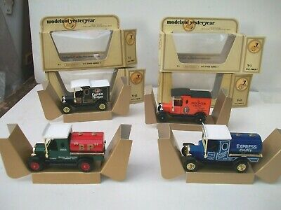 Matchbox Models Of Yesteryear Y3 Y12 Ford T Bp Express Dairy Hoover Capt Morgan • 12.99£