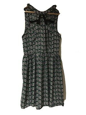Patterned Dress Size 10 Hearts And Bows Brand • 0.99£