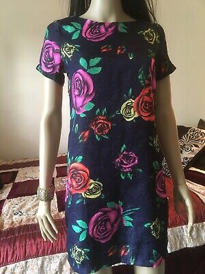Hearts And Bows Size 6 Dress Shift, 50's Pattern Good Condition • 3.99£