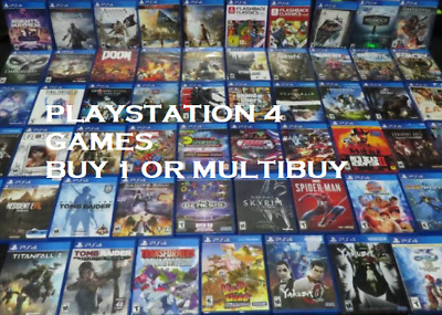 $ CDN20.67 • Buy Playstation 4 PS4 Games Buy 1 Or Bundle Up Same Day Dispatch Fast Free Delivery
