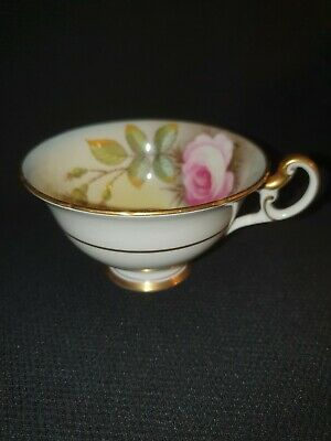 Foley(early Shelly) Bone China Rose Cabinet Cup Vintage • 10£