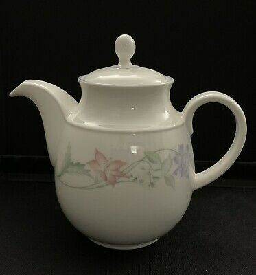 Royal Doulton Expressions Summer Carnival Teapot Tea Pot Immaculate Condition • 6.90£