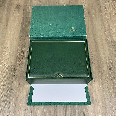 $ CDN49 • Buy Authentic Preowned Rolex Green Box (Case Only) 74.00.71 - Includes Handkerchief!