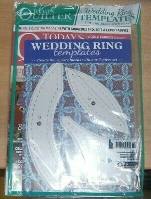 Today's Quilter Magazine #69 2020 Amish Medallion Sampler +Wedding Ring Template • 11.99£