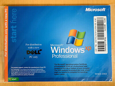 Windows XP Professional Reinstall Disk For A Dell Computer, London Stock • 9£
