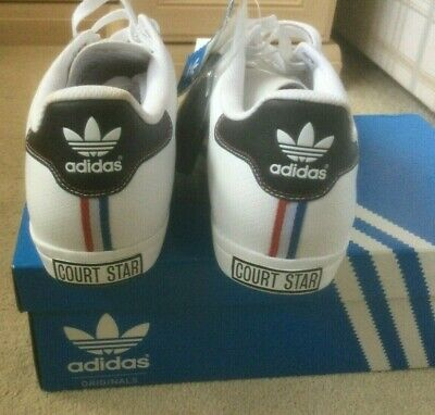 Team GB Court Star ADIDAS Mens Trainers UK 10 Olympic Games London 2012  • 74.99£