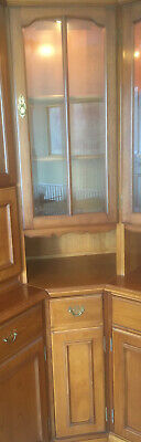 Corner Unit With Display Cabinet And Wine Cabinet By Younger • 45£