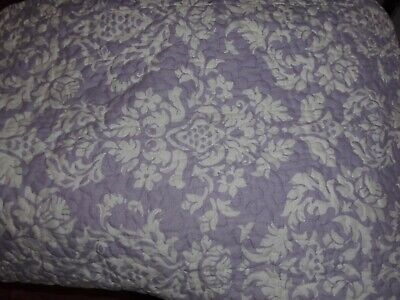 Forever England Lilac And White Cotton Pillow Shams- Pre Owned  • 4.50£