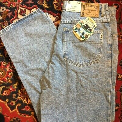Lee Cooper Loose Fit (WIDE) Light Blue Vintage Jeans W32 L34 • 13£
